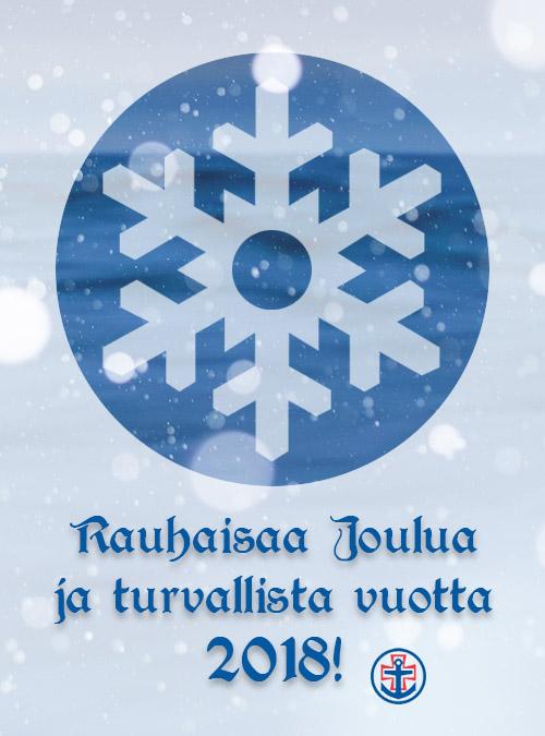 Hyvää Joulua ja turvallista vuotta 2018!